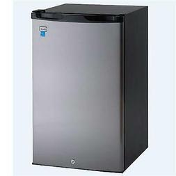 Avanti AR4456SS Counterhigh Refrigerator, 4.5 cu. ft, Black/