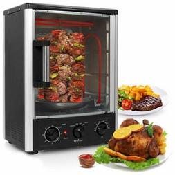 Nutrichef Upgraded Multi-Function Rotisserie Oven - Vertical