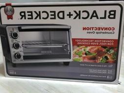 BLACK & DECKER 6-Slice Countertop Pizza Toaster Convection O