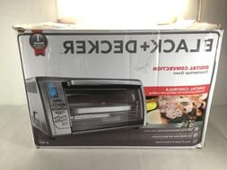 BLACK & DECKER COUNTER-TOP CONVECTION TOASTER OVEN STAINLESS