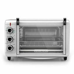 Black & Decker Crisp N Bake Air Fry Toaster Oven Stainless S