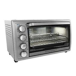 Black & Decker 9-Slice Rotisserie Oven - Bake, Toast, Broil,