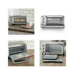 BLACK+DECKER™ 4 Slice Toaster Oven - Stainless Steel