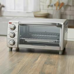 BLACK+DECKER 4 Slice Natural Convection Toaster Oven - Stain