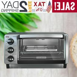 BLACK+DECKER  4-Slice Toaster Oven with Natural Convection B