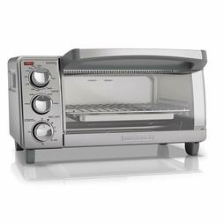 Free shipping BLACK+DECKER TO1760SS 4-Slice Toaster Oven wit