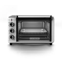 BLACK+DECKER 6-Slice Convection Countertop Toaster Oven, Sta