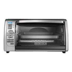 BLACK+DECKER Countertop Convection Toaster Oven Silver Dual