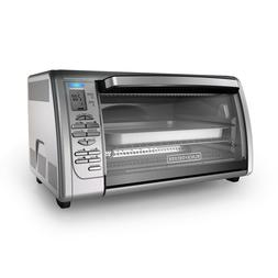 BLACK+DECKER Countertop Convection Toaster Oven, Stainless S