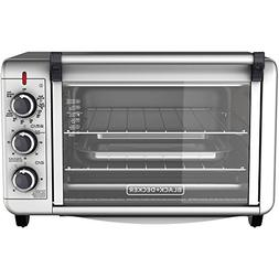Black & Decker Countertop Convection Toaster Oven with Exter