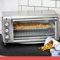BLACK+DECKER Extra Wide Crisp N Bake Air Fry Toaster Oven, 1