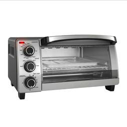 BLACK+DECKER Natural Convection Toaster Oven, Stainless Stee