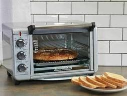 BLACK+DECKER TO1303SB 4-Slice Toaster Oven - Stainless Steel