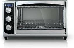 BLACK+DECKER TO1675B 6-Slice Convection Countertop Toaster O