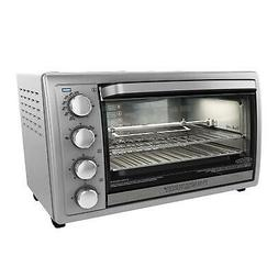 Black+Decker TO4314SSD WCR-076 Rotisserie Toaster Oven, 9X13