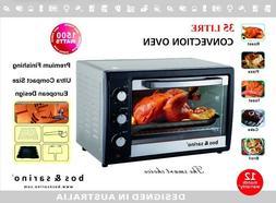 BOS & SARINO 35L Convection Rotisserie Oven 1500W Portable B
