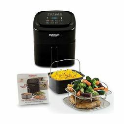 NuWave Brio 6 Quart Digital Air Fryer – Black with NuWave