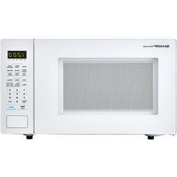 Carousel 1.4 Cu. Ft. 1000W Countertop Microwave Oven in Whit