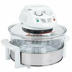 Classic Cuisine 12-17 Quart 1200W Halogen Tabletop Oven - Wh