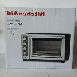 KitchenAid Compact Convection Oven Model#: KCO253BM  Color: