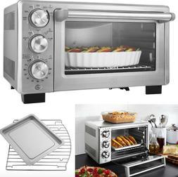 compact toaster oven countertop convection counter timer