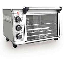 convection countertop oven stainless steel 3 rack