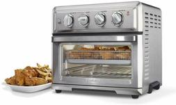 Convection Cuisinart Air Fryer Toaster Oven, Silver, 1800 Wa