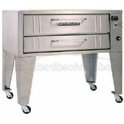 Bakers Pride Convection Flo Double Deck Gas Oven, 66 x 43 x