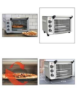 CONVECTION HEAT COUNTERTOP TOASTER OVEN Three Rack Positions