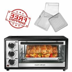 Hamilton Beach Convection Kitchen Oven Toaster Pizza 6 Slice