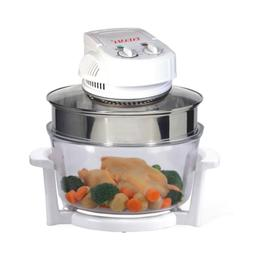 Convection Oven Countertop Turbo 1300 W Built-In Timer Bake