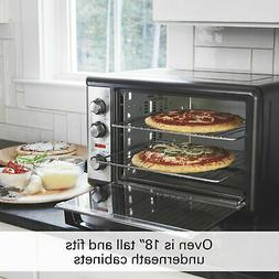 Convection Oven with Rotisserie Stainless Steel Countertop H