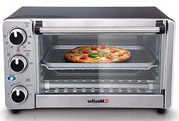 Convection Toaster Oven 4 Slice Stainless Steel Family-Size