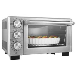 Convection Toaster Oven 6 Slice Brushed Stainless Steel Fami