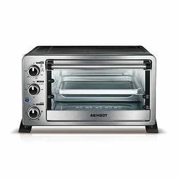 convection toaster oven 6 slice stainless pizza