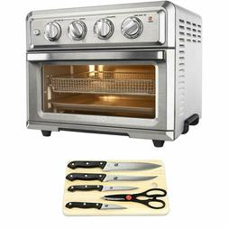 Cuisinart Convection Toaster Oven Air Fryer with Light Silve
