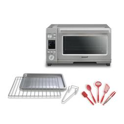 Panasonic Convection Toaster Oven & Nuewave 5-Piece Silicone