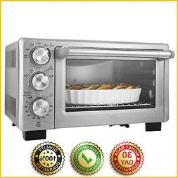 CONVECTION TOASTER OVEN Kitchen Countertop Cooking Bake Broi