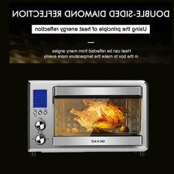 Convection Toaster Oven Stainless Steel 6 Slice Countertop L