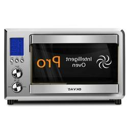 convection toaster oven stainless steel big lcd