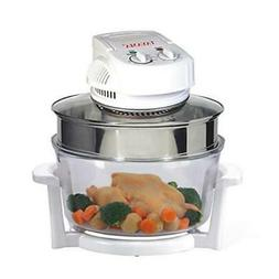 Tayama Countertop Convection Oven Built-In Timer Tempered Gl