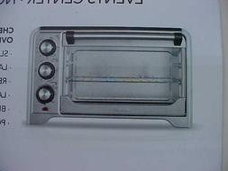 CHEFMAN COUNTERTOP CONVECTION OVEN-STAINLESS STEEL-NEW
