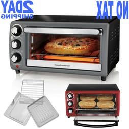 Hamilton Beach Countertop Convection Toaster Oven 4 Slice Ki