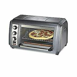 Countertop Convection Toaster Oven with Easy Reach Roll-Top