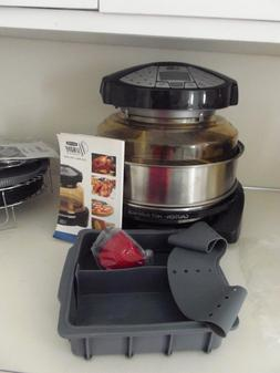 NuWave Countertop Elite Dome Oven with Extender Ring Kit + p