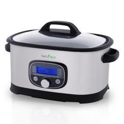NutriChef Countertop Oven Multi-Cooker Pro - Sous Vide Slow