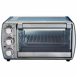 Oster Countertop Oven with Convection, Stainless Steel B+