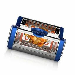 NutriChef Digital Countertop Rotisserie - Grill Oven Rotatin