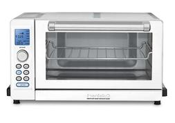 Cuisinart Deluxe Convection Toaster Oven Broiler White an W