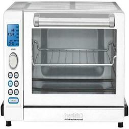 deluxe convection toaster oven broiler white